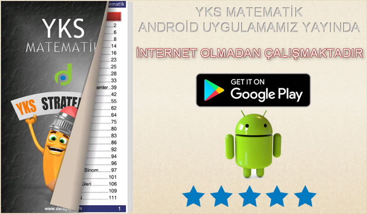 YKS Matematik Android Uygulama