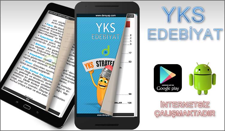 YKS Edebiyat Android Uygulama